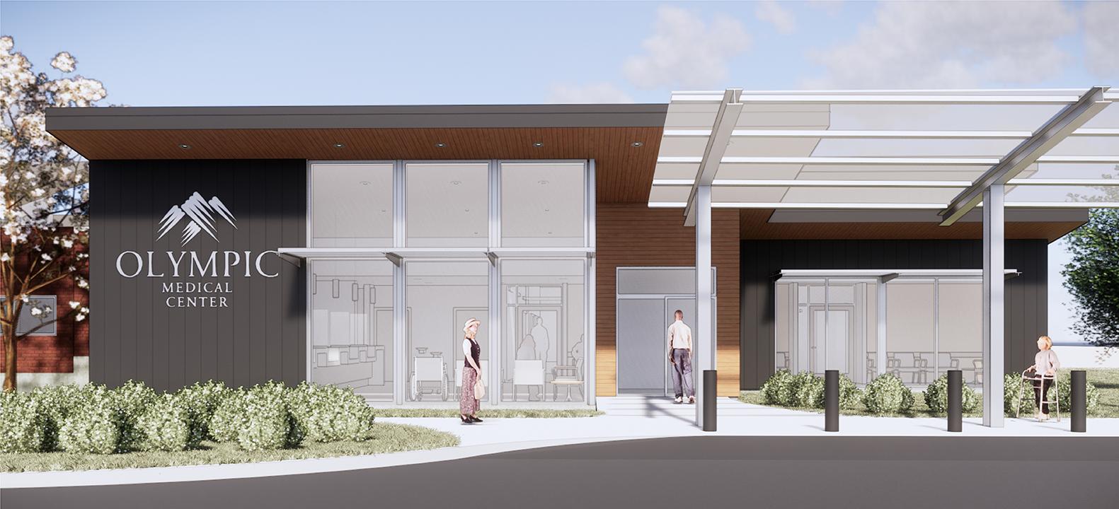 Olympic Medical Center, Coates Design Architects, Seattle WA